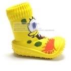 รองเท้าเด็กลายการ์ตูนพื้นหนาม-(10-คู่/แพ็ค)