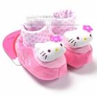 รองเท้าเด็ก-Hello-Kitty-นุ่มนิ่ม-(4-คู่/แพ็ค)