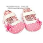 รองเท้าเด็กสาวน้อยบานฉ่ำ--(6-คู่/แพ็ค)
