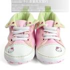 รองเท้าผ้าใบเด็กคิตตี้ปักลายผีเสื้อ-(6-คู่/แพ็ค)