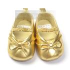 รองเท้าเด็กโบว์สีทอง-(6-คู่/แพ็ค)