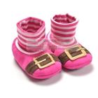 รองเท้าเด็กเอลฟ์ตัวน้อย-สีชมพู-(6-คู่/แพ็ค)
