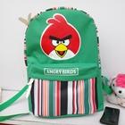 กระเป๋าเป้-Angry-Birds-ลายเส้น-สีเขียว-(5-ใบ/pack)