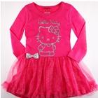 เดรส-Hello-Kitty-สุดวิ๊ง-สีชมพู-(5-ตัว/pack)