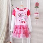 เดรสเจ้าหญิง-Hello-Kitty-ในหัวใจ-สีชมพู(5ตัว/pack)