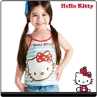 เสื้อกล้าม-Hello-Kitty-วัยใส-สีแดง(5-ตัว/pack)