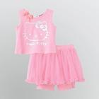 ชุดเสื้อกางเกง-Hello-Kitty-สีชมพูอ่อน-(5-ตัว/pack)