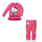 ชุดเสื้อกางเกง-Kitty-สีชมพู-(5-ตัว/pack)