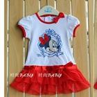 เดรส-Royal-Minnie-สีแดง-(5ตัว/pack)