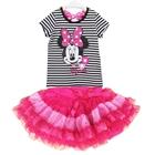 ชุดเสื้อกระโปรง-Minnie-หน้าหวาน-สีดำ-(5-ตัว/pack)
