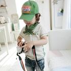 เสื้อยืด-Campbell-สกรีนลายสีเขียว-(5size/pack)