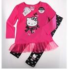 ชุดเสื้อกางเกงคิตตี้ขยิบตาปิ๊งๆ-สีชมพู(5-ตัว/pack)