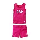 ชุดเสื้อกางเกง-GAP-หวานๆ-สีชมพูเข้ม-(5-ตัว/pack)