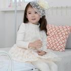 เดรสเจ้าสาวไอโซ-สีขาว-(5ตัว/pack)