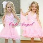 เดรส-Cute-Angel-ลายจุด-สีชมพู-(4ตัว/pack)