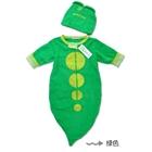 ถุงนอนหนอนน้อย-สีเขียว-(6-ตัว/pack)