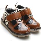 รองเท้าเด็กหมีแพนด้า-สีน้ำตาล-(5-คู่/แพ็ค)