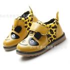 รองเท้าเด็กหมีแพนด้า-สีเหลือง-(5-คู่/แพ็ค)