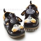 รองเท้าเด็กหมีหมาน้อย-สีน้ำตาลเข้ม-(5-คู่/แพ็ค)