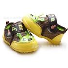 รองเท้าเด็กหมีน้อยน่ารัก-สีน้ำตาล-(5-คู่/แพ็ค)