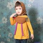 เสื้อแขนยาวไก่น้อย-สีเหลือง-(5size/pack)