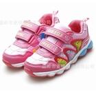 รองเท้าผ้าใบไดโนเสาร์พ่นไฟ-สีชมพู-(6-คู่/แพ็ค)