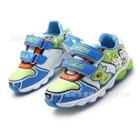 รองเท้าผ้าใบลายการ์ตูนประดับไฟ-สีฟ้า-(6-คู่/แพ็ค)