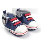 รองเท้าผ้าใบ-Mickey-Mouse-สีน้ำเงิน(6-คู่/แพ็ค)