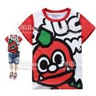 เสื้อยืดแขนสั้น-ไดโนเสาร์-แขนสีแดง-(6size/pack)