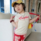 เสื้อยืด-Campbell-สกรีนลายสีแดง-(5size/pack)