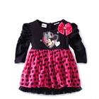 เดรสแขนยาว-Minnie-Mouse-สีดำ-(5ตัว/pack)