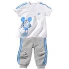 ชุดเสื้อกางเกง-Mickey-สีฟ้า-(5-ตัว/pack)