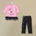 ชุดเสื้อกางเกง-Minnie-Mouse-สีชมพู-(5-ตัว/pack)