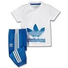 ชุดเสื้อกางเกง-Adidas-สีฟ้า(10-ตัว/pack)