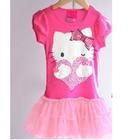 เดรสแขนสั้น-Hello-Kitty-สีชมพู-(5-ตัว/pack)