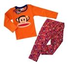 ชุดเสื้อกางเกง-Paul-Frank-สีส้ม-(5-ตัว/pack)