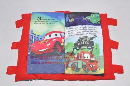 นิทานผ้ารถแข่งสีแดง (5 เล่ม/แพ็ค)