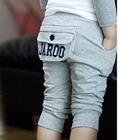 กางเกงขาสามส่วน-Jar00-สีเทา(5-ตัว/pack)