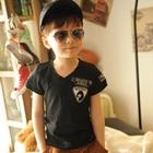 เสื้อยืดคอกลม-I-belive-สีดำ-(5-ตัว/pack)