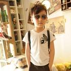 เสื้อยืดคอกลม-I-belive-สีขาว-(5-ตัว/pack)