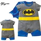 บอดี้สูท-Batman-สีเทา-(4-ตัว/pack)