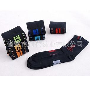ถุงเท้าเด็กแฟชั่นตัวเลข คละแบบ(2 กล่อง /pack)