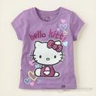 เสื้อยืดแขนสั้น-Kitty-Love-สีม่วง--(10-ตัว/pack)