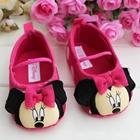 รองเท้าเด็ก-Minnie-Mouse-สีชมพู-(6-คู่/แพ็ค)
