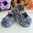 รองเท้าเด็กเสือดาว-สีเทา-(6-คู่/แพ็ค)