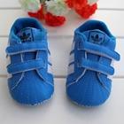 รองเท้าเด็ก-Adidas-3-แถว-สีฟ้า-(6-คู่/แพ็ค)