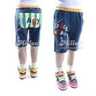 กางเกงขาสามส่วน-Baby-สีฟ้า-(5size/pack)