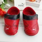 รองเท้าเด็ก-PUMA-สีแดงดำ-(6-คู่/แพ็ค)