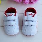 รองเท้าเด็ก-PUMA-เฟอร์รารี่-สีขาวแดง-(6-คู่/แพ็ค)