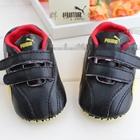 รองเท้าเด็ก-PUMA-เฟอร์รารี่-สีดำแดง-(6-คู่/แพ็ค)